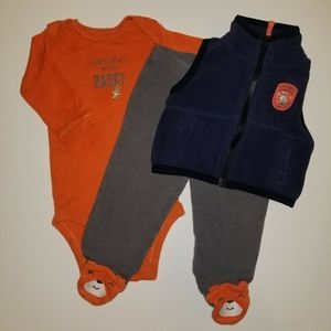 ❗3/💲20❗Carter's 3 piece outfit.
